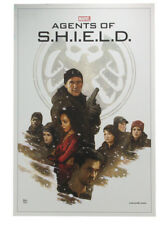 Marvel Agents Of Shield Providence Lithograph Print Art Of Level 7 Paolo Rivera