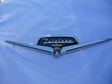 1956 Ford Fairlane  trunk plastic emblim & retainer  Crown Victoria,Victoria,