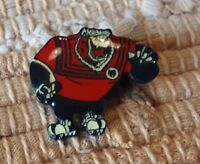 North Sydney Bear Rugby League mascot pin