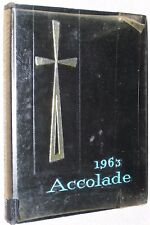 1963 St Saint Francis de Sales High School Yearbook Toledo Ohio OH - Accolade