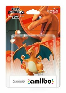 Nintendo amiibo - Super Smash Bros. - Glurak Pokémon (NEU & OVP!)