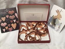 Martha Stewart by Mail Hearts Copper Cookie Cutter Collection