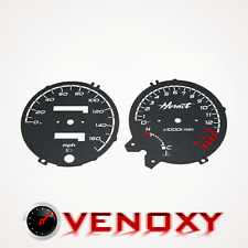 Honda CB 600 Hornet 1998-2002 MPH Gauge Face Dial BLACK