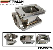 T3-T3 TURBO MANIFOLD ADAPTER+38MM WASTEGATE FLANGE OUTLET 304 Stainless steel