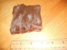 Medium brown Russian squirrel fur.mountain man, crafts, fly tying