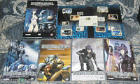 DVD MANGA CYBERPUNK GHOST IN THE SHELL/STAND ALONE COMPLEX 1,2,4,5,BOX + FIGURES