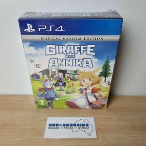 Giraffe and Annika Musical Mayhem Edition - NEW Sealed - PS4 PlayStation 4 PAL