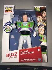 New Thinkway Toys Disney Pixar Toy Story Talking Buzz Lightyear Action Figure