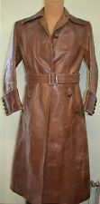 Old 1920s German Flight Horsehide Jacket Motorcycle Oldtimer Leather Coat