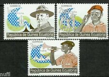 Equatorial GUINEA ECUATORIAL Edifil #120/122 ** MNH Boy Scouts