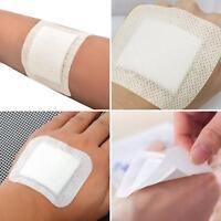 BG_ 10Pcs Medical Non-Woven Adhesive Wound Dressing Band Aid Bandage Flowery