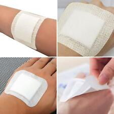 10Pcs Medical Non-Woven Adhesive Wound Dressing Band Aid Bandage Flowery
