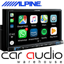 "Alpine iLX-702D - 7"" Bluetooth DAB+ Radio Carplay Android Mechless Car Stereo"
