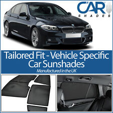 BMW 5 Series 4dr 2010 on UV CAR SHADE WINDOW SUN BLINDS PRIVACY GLASS TINT BLACK