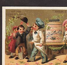 ca 1882 LIEBIG S 0076 Chef Cook English Language American Advertising Trade Card