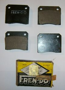 FIAT 1300 - 1500/ PASTIGLIE FRENO ANTERIORI/ FRONT BRAKE PADS
