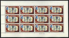 JORDAN-MEDICAL 1966 ANTI TB CAMPAIGN OVPTS S.G. 741-2 FULL SHEETS NEVER HINGED