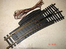 FLEISCHMANN (  6045 R )  AIGUILLAGE ELECTRIQUE A DROITE RAILS EN LAITON  HO