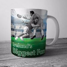 Ireland Fan Rugby Mug / Cup - Birthday / Christmas Gift / Stocking Filler