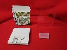 Nintendo Gameboy Pokémon Versione smeraldo Box Repro + Case + Custodia ITA