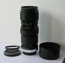 Canon FD Vivitar 75-205mm Telephoto Macro Zoom Lens fits AE-1 AV-1 T70 Cameras