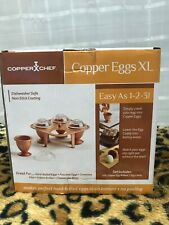 New listing Copper Chef Copper Eggs Xl Brand New As Seen On Tv