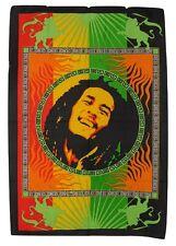 Bob Marley impresión Hippie Rasta colgante de pared de algodón comercio justo 80x110 Cm (BM2)
