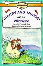 Kids cool paperback gr k-3:Henry and Mudge&The Wild Wind-Mudge afraid of storms