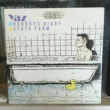 """[Rock/Pop]~Nm 12""""~Yaz~Nobody's Diary~State Farm~(Extended Versions)~[1983~Sire~P"""