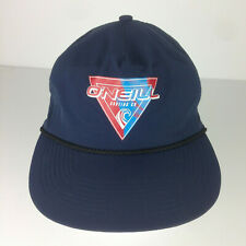 O'Neill Surfing Co Cruiser Hat Snapback Youth Navy 278091 Screened Wave Graphic