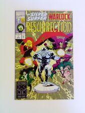 The Silver Surfer/Warlock: Resurrection #1 Marvel 1993 NM Jim Starlin Gamora