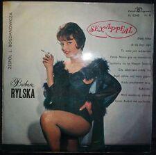 Barbara Rylska ?– Sex Appeal LP Rare Polish Poland pop female vocal MUZA XL 0248