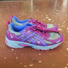 Asics Gel Venture 5 Womens Size 8 Gray Pink Running Trail Shoes Tennis Low Top