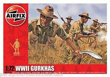 AIRFIX SCALE 1:72 TOY SOLDIERS - WWII Gurkhas - A01754 - New in Box