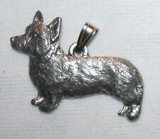 Pembroke Welsh Corgi Dog Harris Fine Pewter Pendant Usa Made