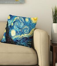 "Blue Abstract 3D Printed Cushion Cover Sofa Home Décor Pillow Case 16""X16"" Inch"