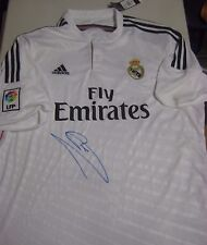 REAL MADRID -CRISTIANO RONALDO HAND SIGNED 2014/15 JERSEY - SIGNED WITH BLUE