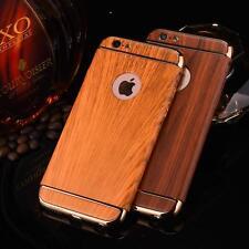 Apple iPhone 6, 6S PC Hartplastik Hülle, Cover, Case in Holz Optik, Schale