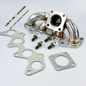 CT9 Turbo Exhaust Manifold For 96-99 Toyota Starlet EP82/ EP85/ EP91 1.3L 4EFTE