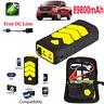89800mAh Heavy Duty 600A USB Car Jump Starter Battery Power Bank Charger Booster