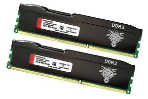 DDR3 RAM 8GB Kit (2x4GB) Desktop Memory PC3-10600 (DDR3-1333) 240-Pin DIMM SDRAM