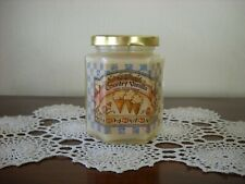 Home Interiors Country Vanilla Jar Candle 10oz Never Lit