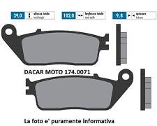 174.0071 PLAQUETTE DE FREIN ORIGINAL POLINI YAMAHA Pour MAX 250 i - 400