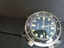 Dan Henry 1970 Automatic Diver Compressor 40mm Grey Dial Discontinued Limited Ed