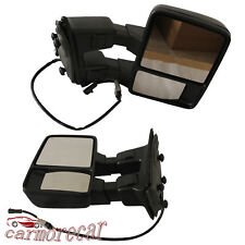 Set Turn Signal Towing Mirrors Power Heated For Ford 99-07Super Duty F550 F250