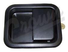 Door Handle Jeep 97 to 06 TJ Wrangler Full Steel Doors Left Side Crown 55076222