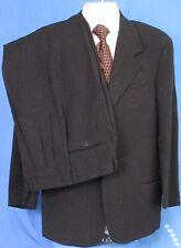 Men's Emporio Armani Suit Gray Size 38 Euro 48 Fleece Wool Blend
