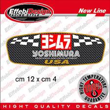 YOSHIMURA USA CARBON adesivI alte temperature 200 GRADI marmitte scarichi moto