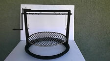 Weber barbecue 18 inch Santa Maria style attachment,accessories adjustable grate