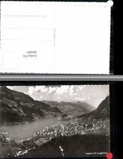 304083,Lungern Totale m. Lungernsee See Bergkulisse Kt Obwalden